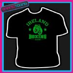 IRELAND IRISH BOXING CLUB GLOVES BOXER GYM TSHIRT